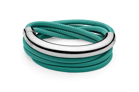 QUDO - Doppio Big - Triple Wrap Leather Bracelet