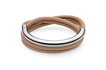 QUDO - Doppio Small - Triple Wrap Leather Bracelet