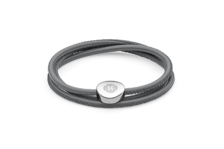 QUDO - Maggia - Triple Wrap Leather Bracelet