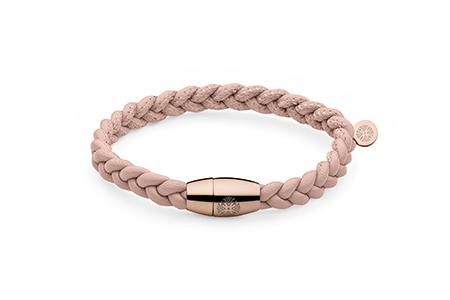 QUDO - Codino Slim - Braided Leather Bracelet