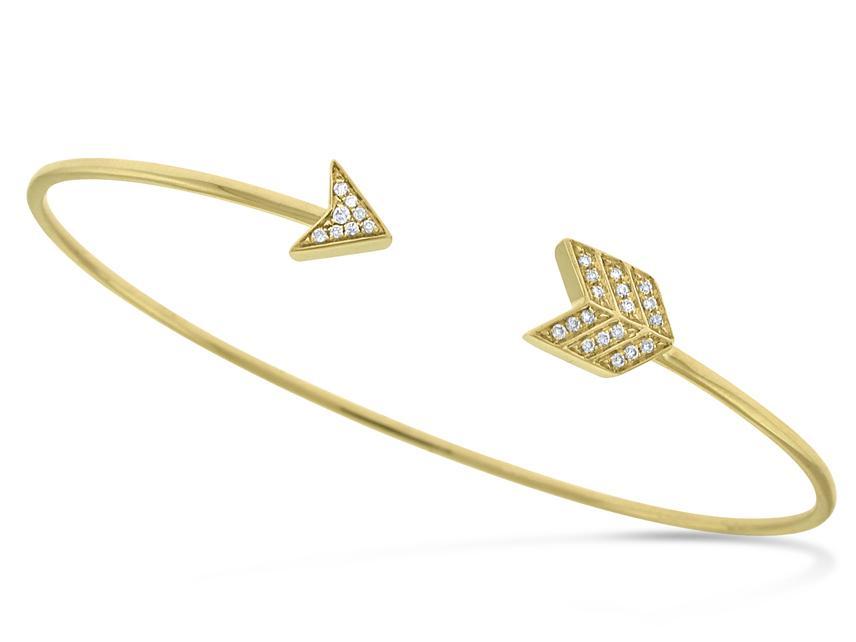 KC DESIGNS - Diamond Arrow Bracelet