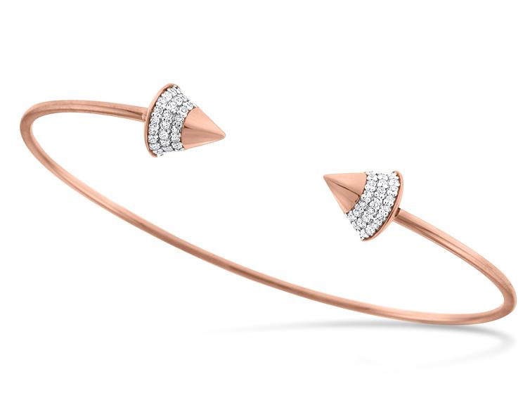 KC DESIGNS - Diamond Spike Bangle Bracelet