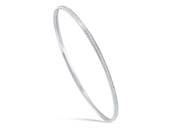 KC DESIGNS - 14K Diamond Slip On Bangle