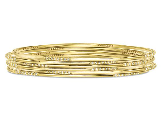 KC DESIGNS - Diamond Slip-On Bangle