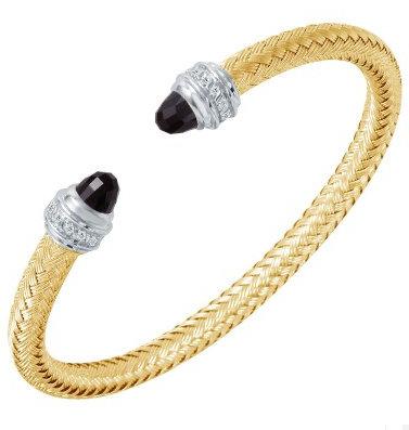 Mesh Cuff Bangle Bracelet