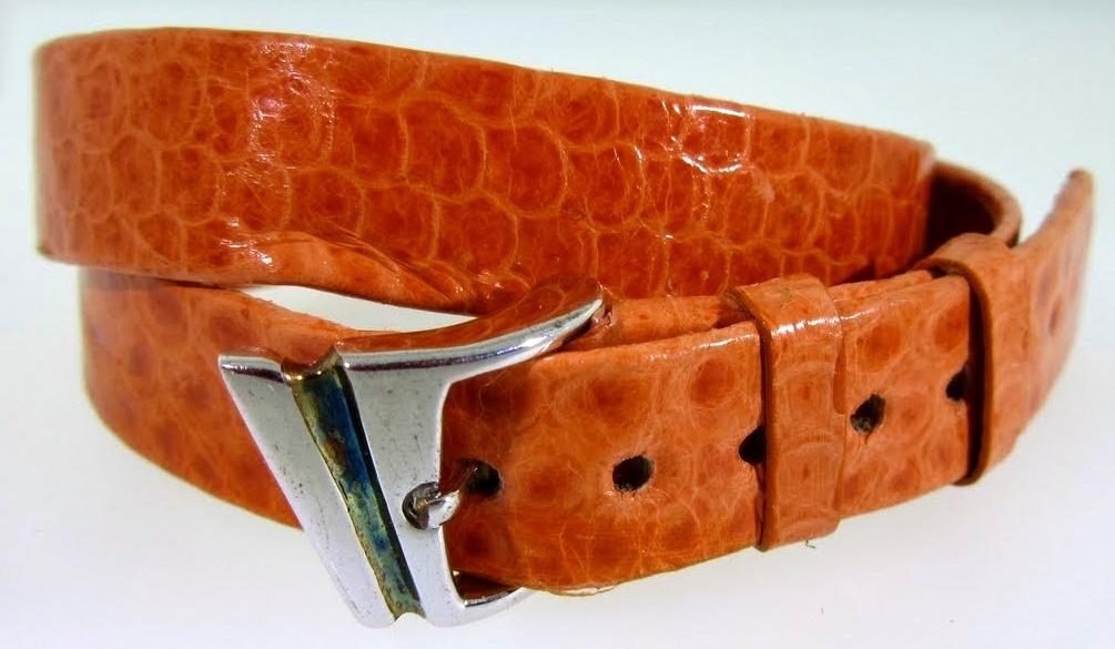Coral Snake Double Wrap Leather Bracelet