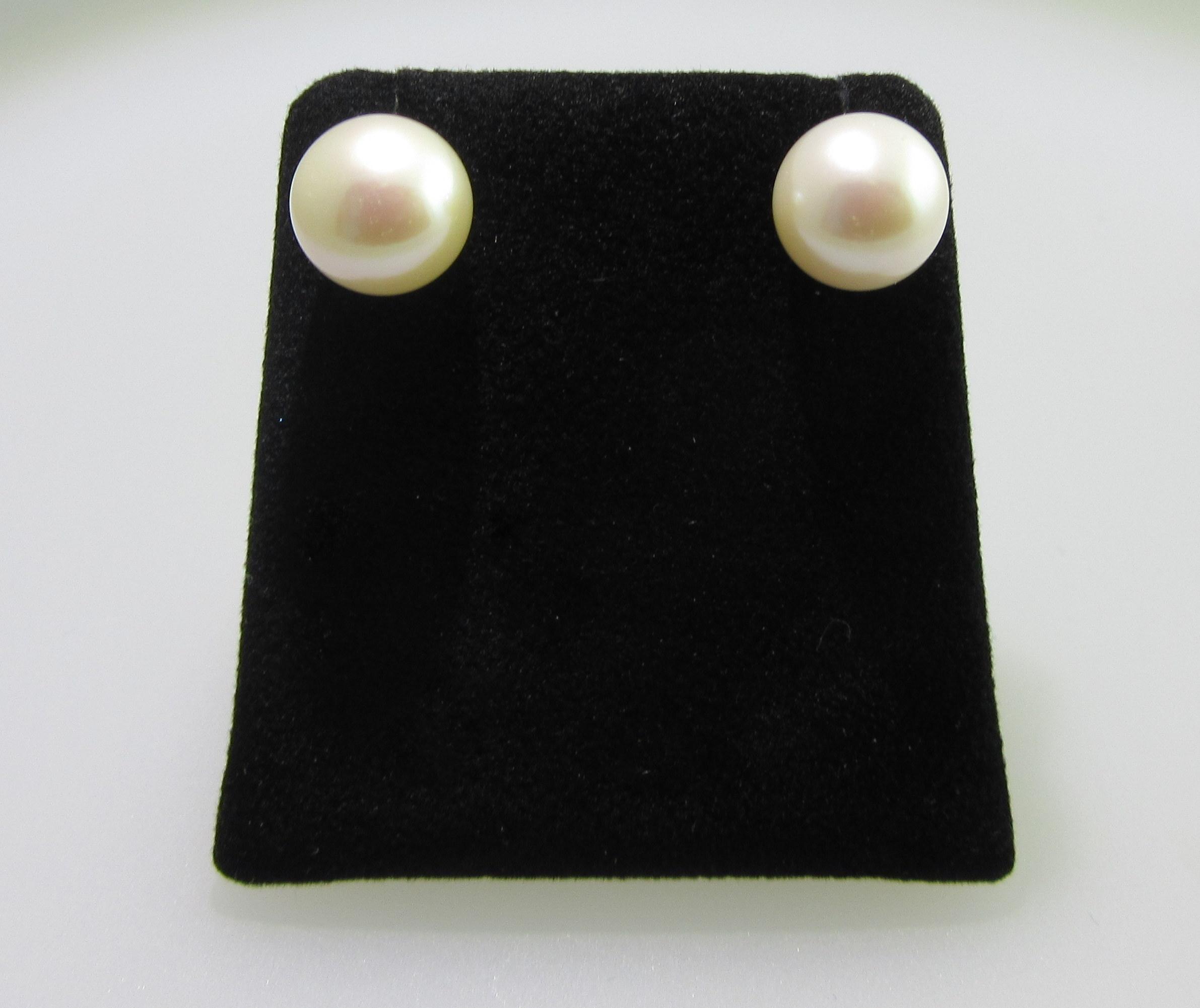 Japanese Akoya Pearl Stud Earrings