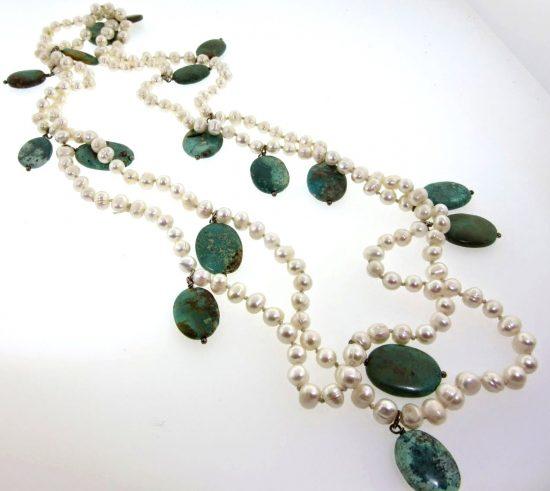 Designer Joan Slifka Pearl Necklace