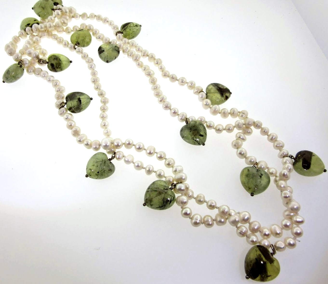 Designer Joan Slifka Pearl Necklace