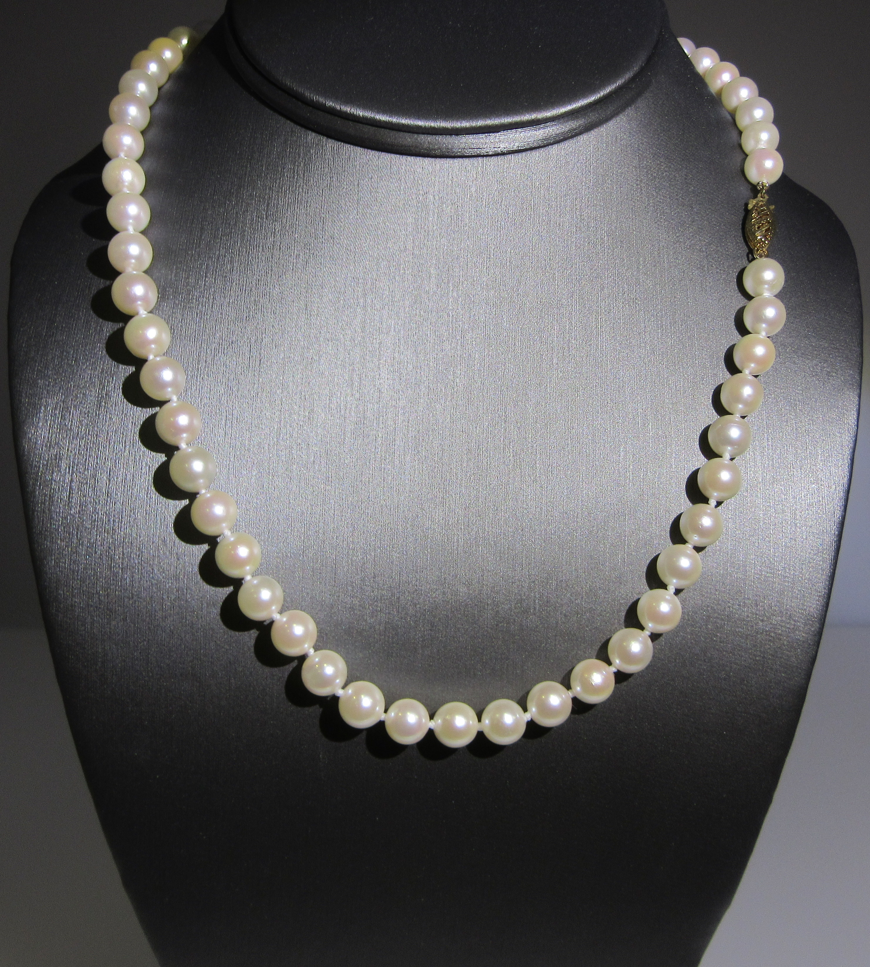 Japanese Akoya Pearl Necklace
