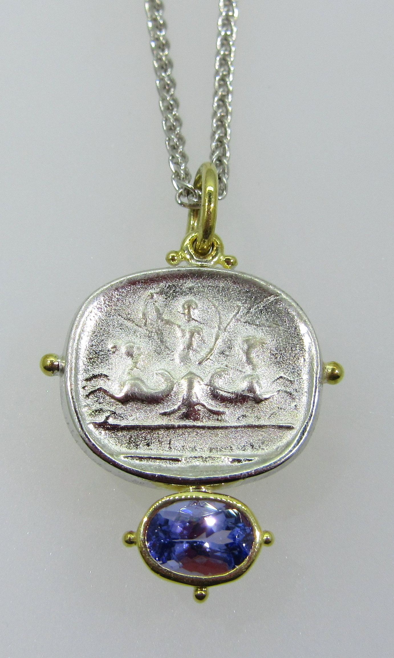 Antiqued Pendant