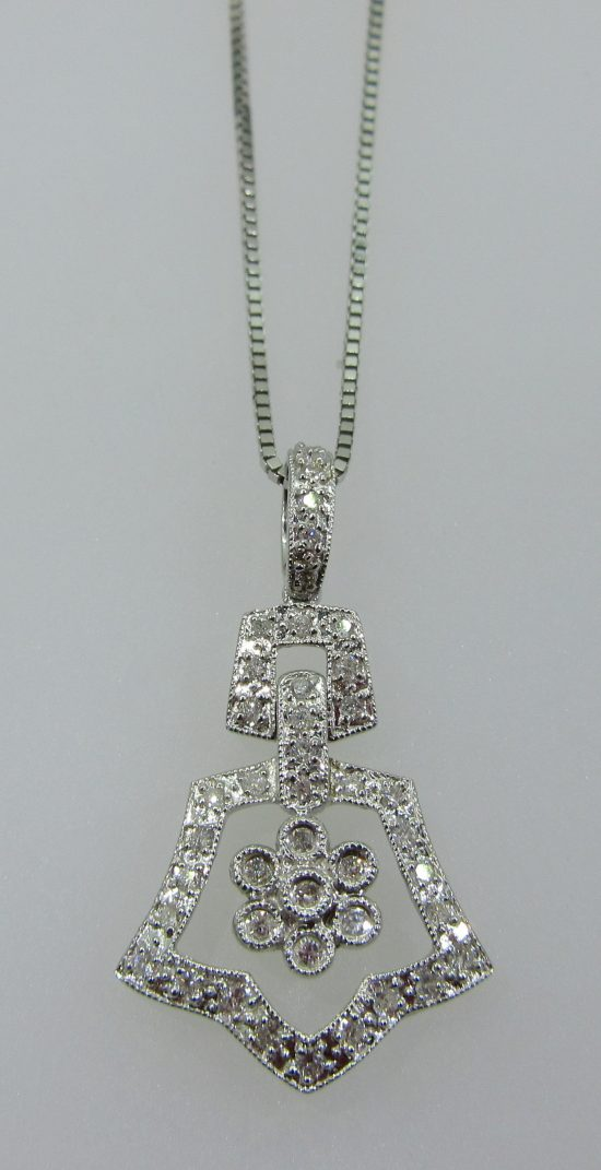 Antique Pave Pendant