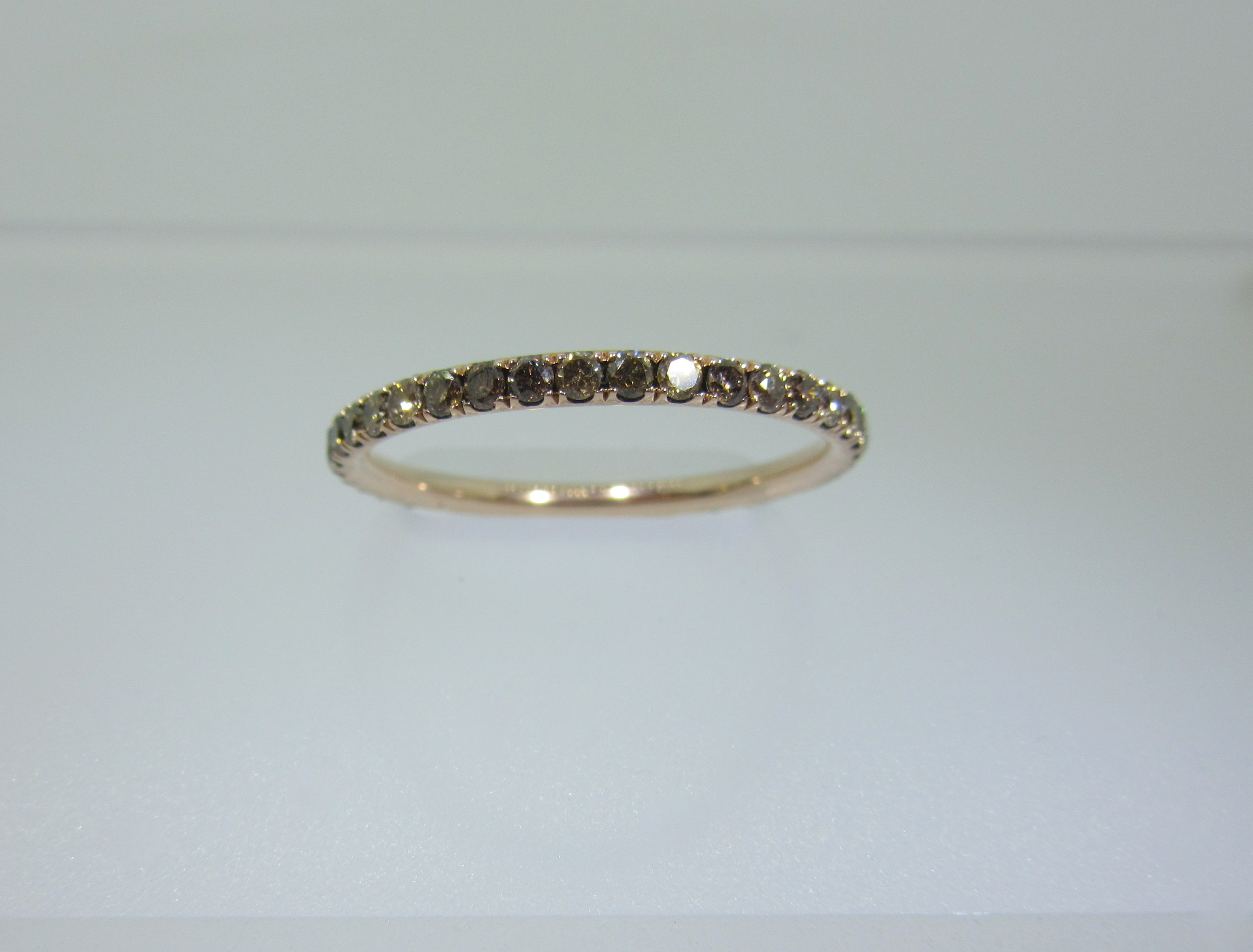 diamond eternity vault champagne band parker bands product bp s barbara