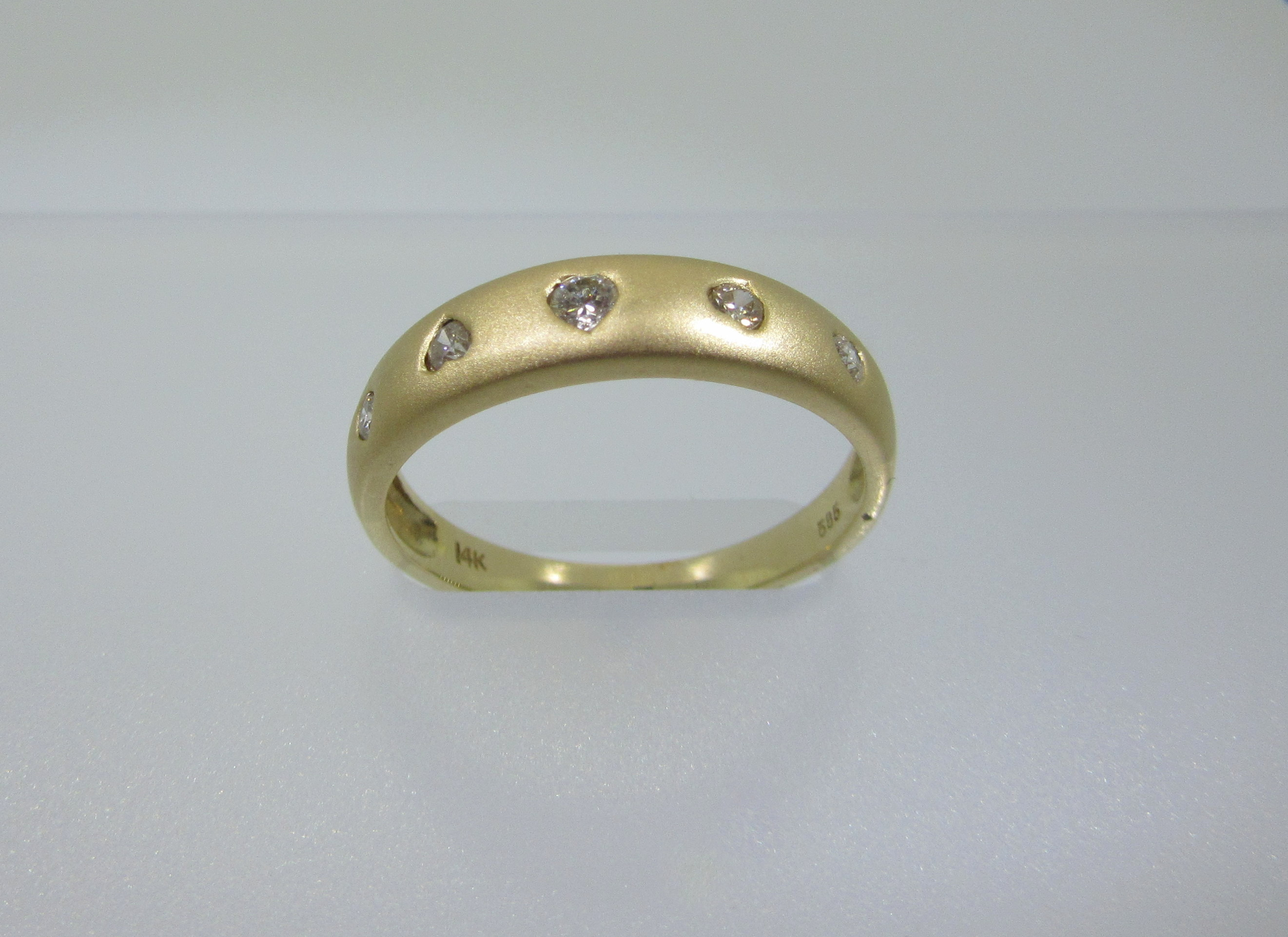 collections gold designer silver brushed engagement modern yellow diamond and ring dress rings contemporary products