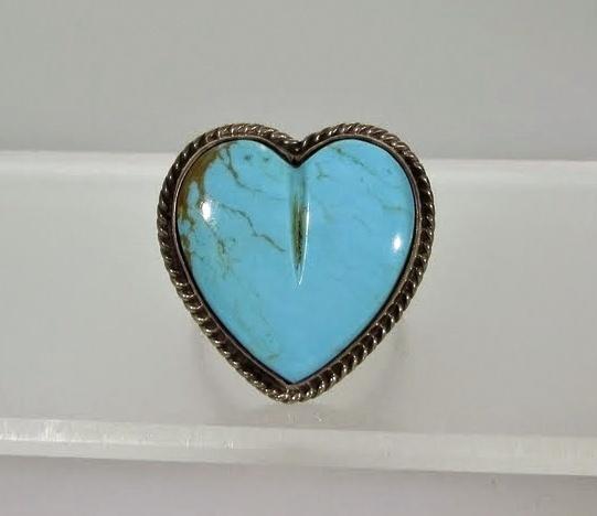 Joan Slifka Turquoise Heart Ring