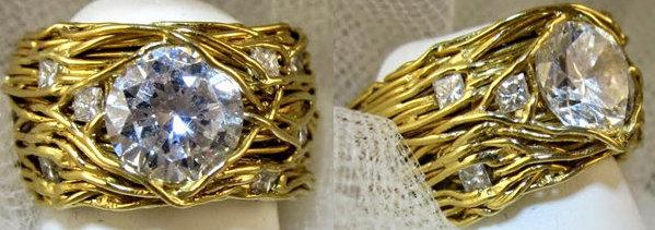 Wire Nest Ring
