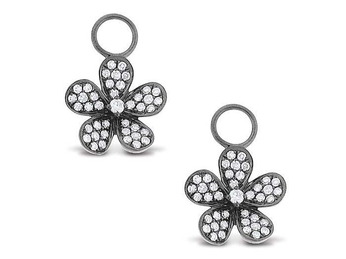 KC DESIGNS - Diamond Small Floral Earrings
