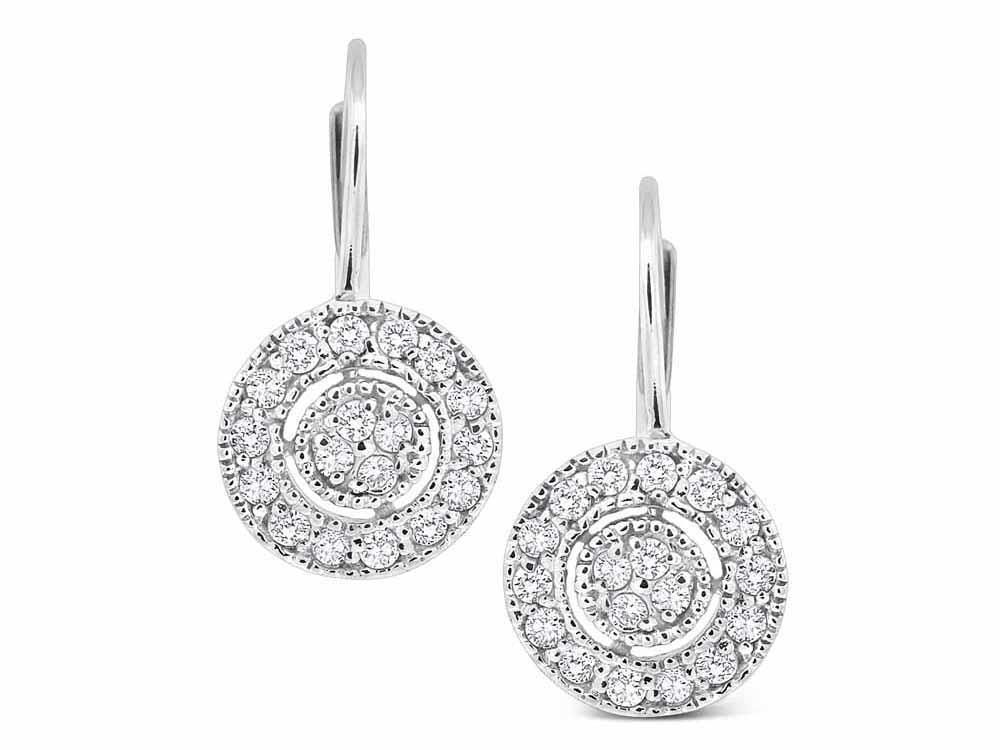 KC DESIGNS - Diamond Classic Disc Earrings