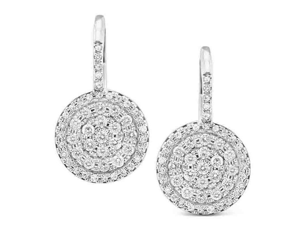 KC DESIGNS - Diamond Classic Disc Earrings