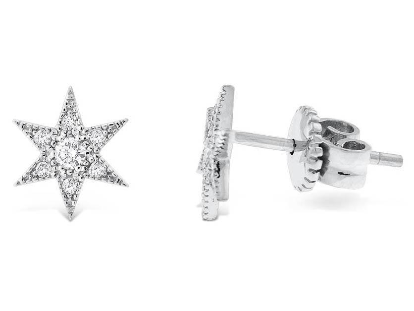 KC DESIGNS - Diamond Starburst Earrings