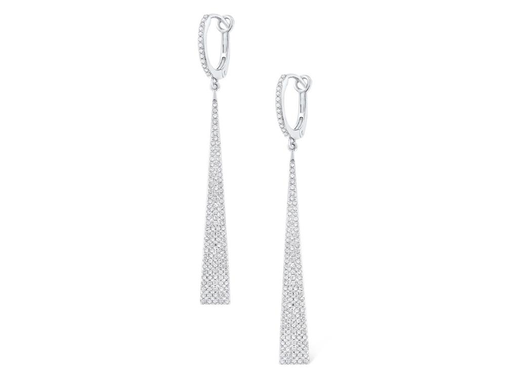 KC DESIGNS - 14K Diamond Dangle Earrings