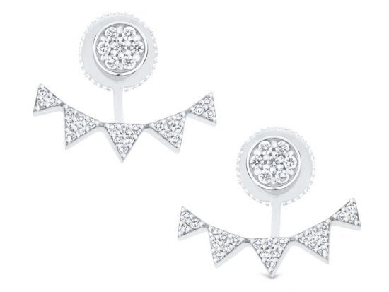 KC DESIGNS - 14K Diamond Earrings