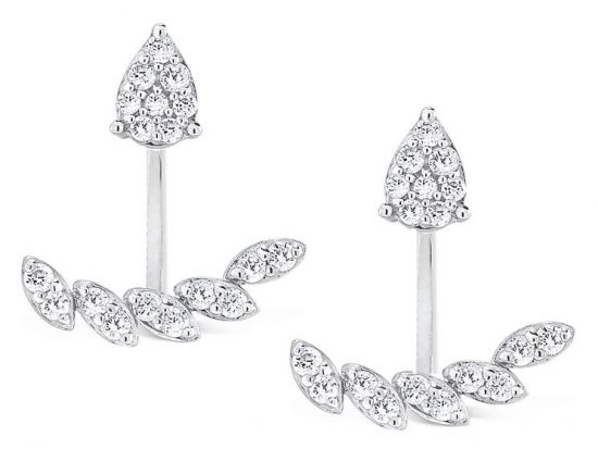 KC DESIGNS - 14K Gold and Diamond Earrings