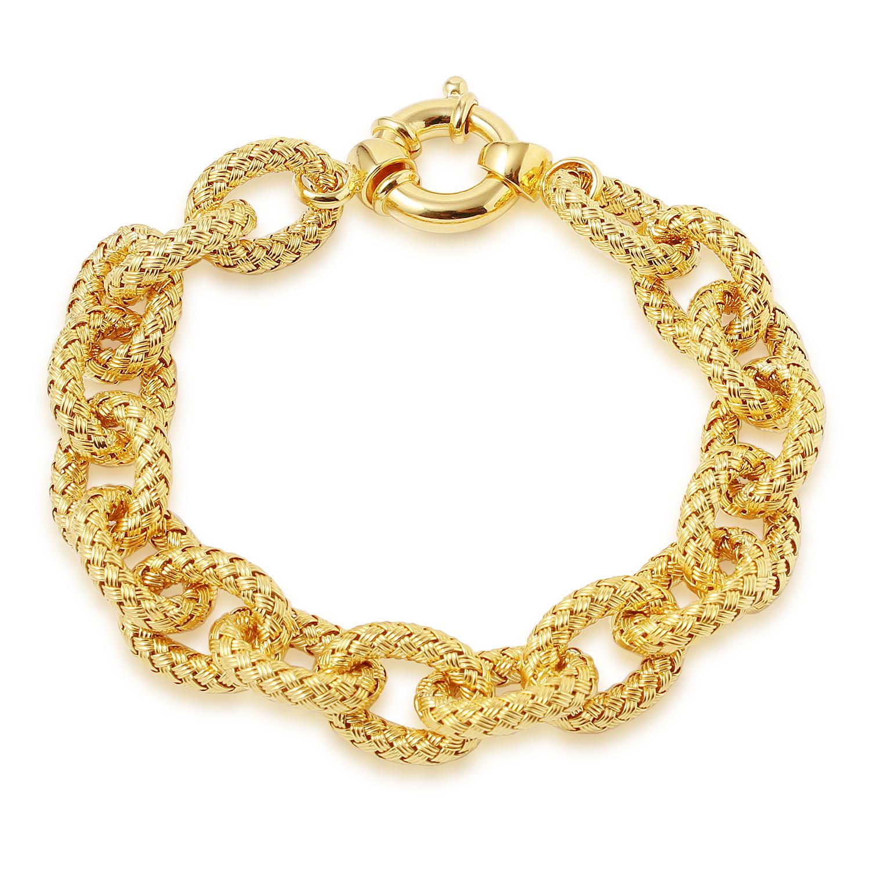 CHARLES GARNIER - Sterling Silver Link Bracelet