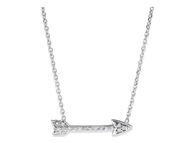 KC DESIGNS - Diamond Arrow Necklace