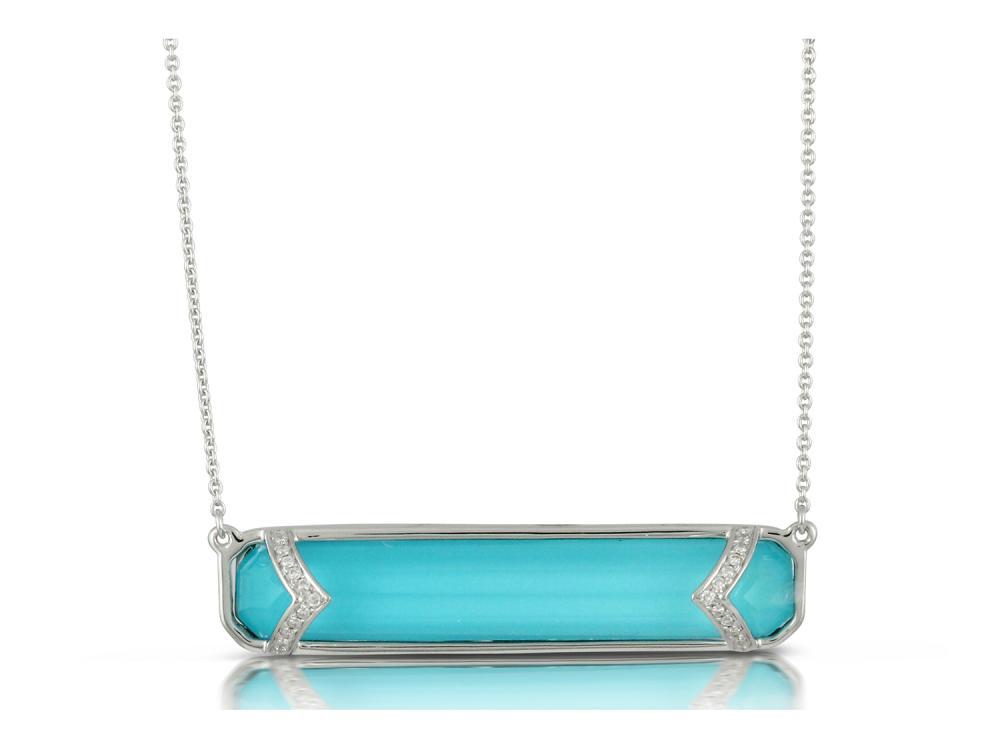 DOVES - 18K White Gold Diamond Necklace