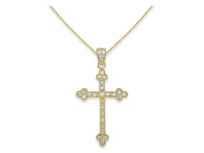 KC DESIGNS - Diamond Cross Necklace