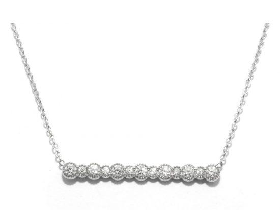 TIMELESS DESIGNS - Diamond Smile Pendant