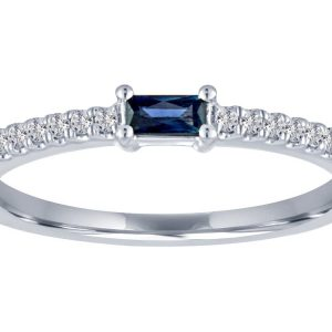 TIMELESS DESIGNS - Diamond and Sapphire Ring