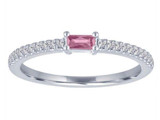 TIMELESS DESIGNS - Diamond and Tourmaline Ring