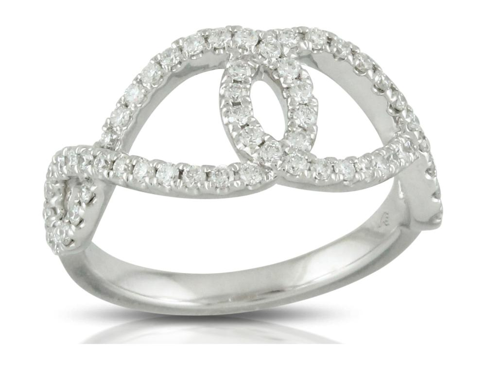 DOVES - 18K White Gold Ring