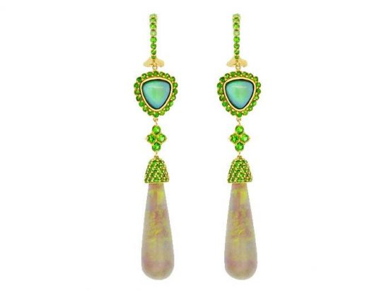 SLOANE STREET - Crystal Opal Briolette Earrings