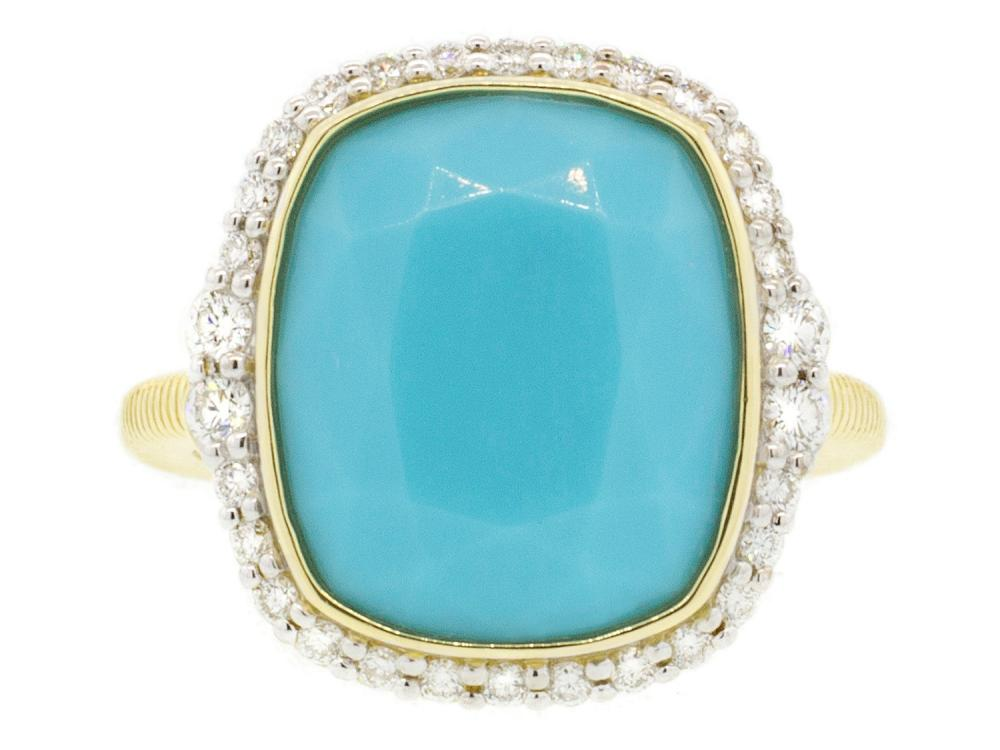 SLOANE STREET - Turquoise Ring