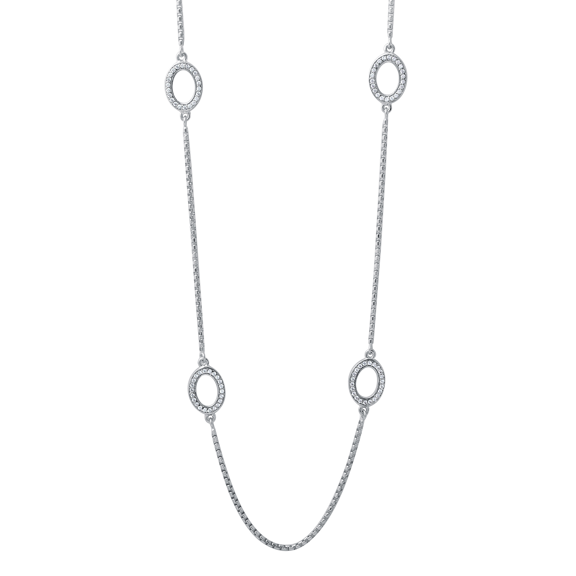 CHARLES GARNIER - Sterling Silver Friendship Necklace